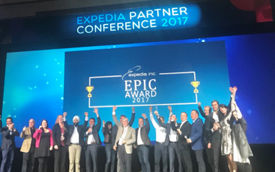 Expedia EPIC 2017 Award for Technology
